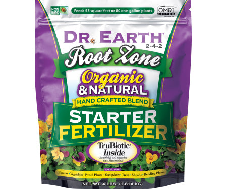 Dr. Earth Root Zone Premium Starter Fertilizer 2-4-2 (4 lb.)