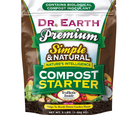 Dr. Earth Premium Compost Starter (3 lb.)