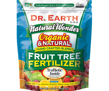 Dr. Earth® Natural Wonder® Fruit Tree Fertilizer 5-5-2