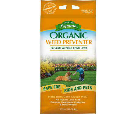 Espoma® Organic® Weed Preventer Plus Lawn Food 9-0-0