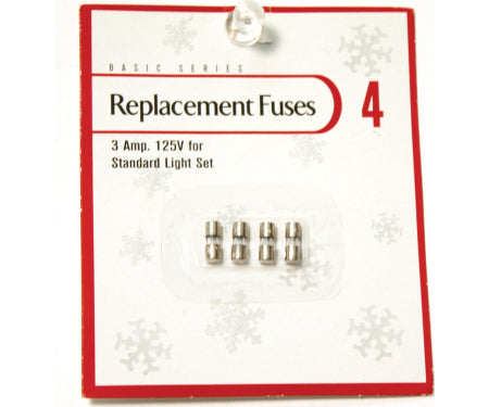 3 AMP Replacement Fuses (125 volts)