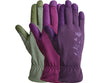 Women's Tuscany Leather Garden Gloves (Medium)