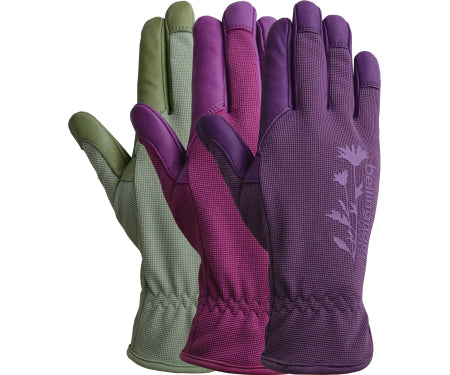 Women's Tuscany Leather Garden Gloves (Small)