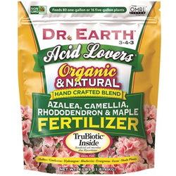 Dr. Earth® Acid Lovers® Azalea, Camellia Rhododendron & Maple Fertilizer 3-4-3