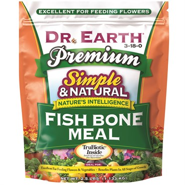 Dr. Earth® Fish Bone Meal 3-18-0