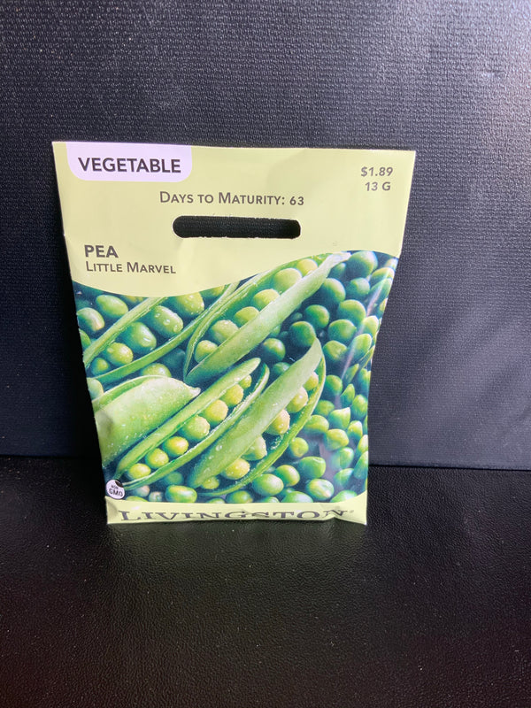 Livingston: Vegetable Seed Pea 'Little Marvel'