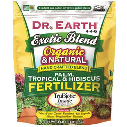 Dr. Earth® Exotic Blend Palm, Tropical & Hibiscus Fertilizer 5-4-6