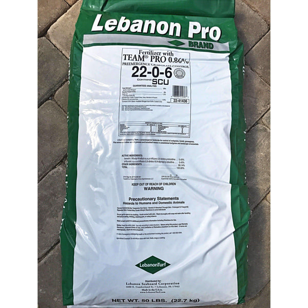 Lebanon 4-Step Fertilizer Program