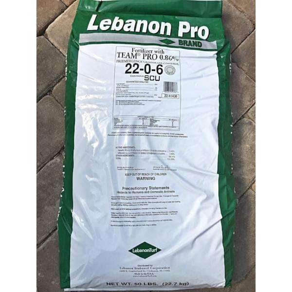 Lebanon Lawn Fertilizer W/ TEAM Crabgrass Pre-Emergent-Bay Gardens-Bay Gardens
