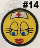 Emoji Iron On Embroidered Patch