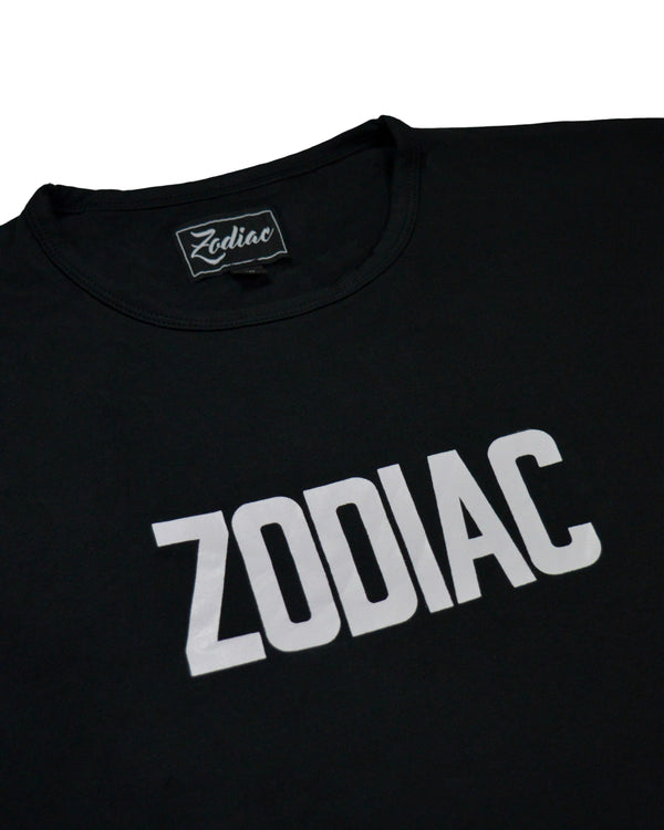 Core Print T-Shirt - Black / White
