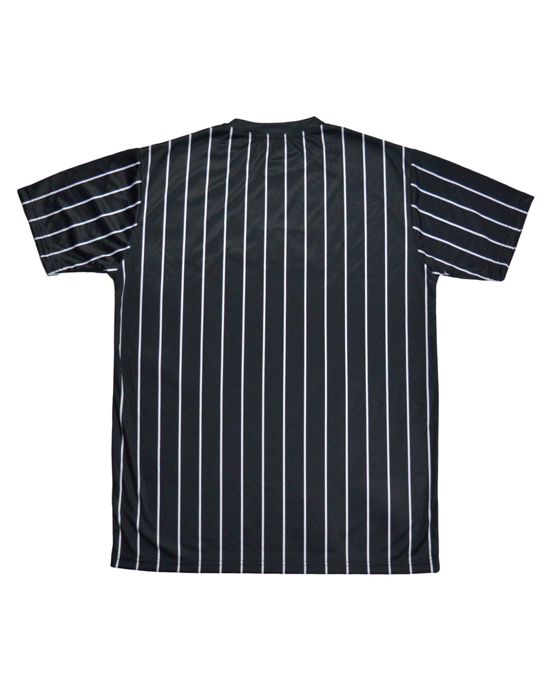 Pinstripe T-Shirt - Black/White