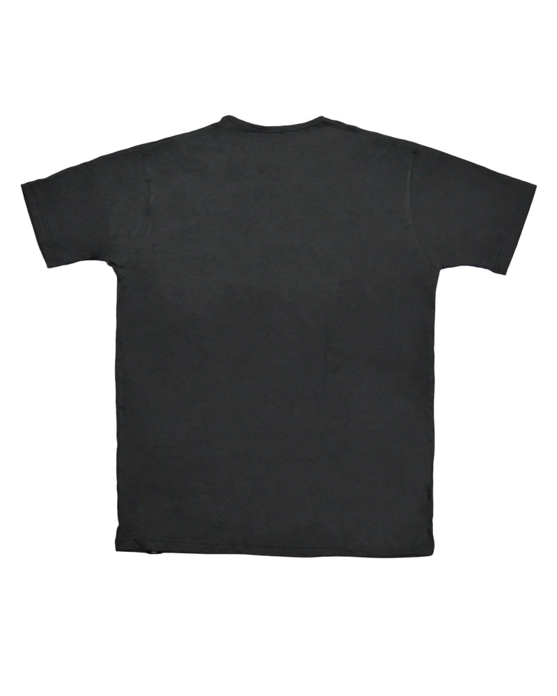 Core Print T-Shirt - Grey / Black