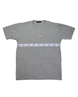 T-Shirt - Grey/White Tapering