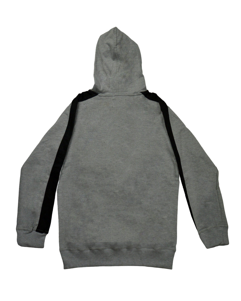 Tapered Hoodie - Grey/Black
