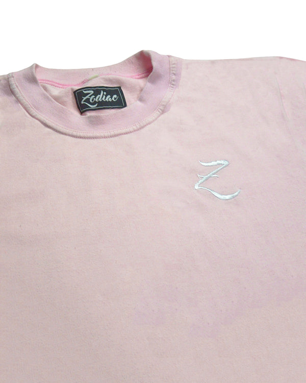 Original Core T-Shirt - Rose Pink / White