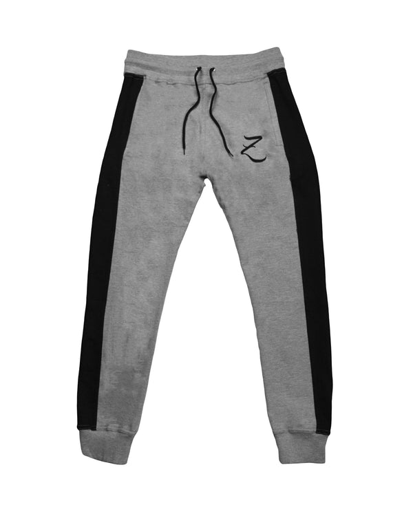 Tapered Joggers - Grey/Black