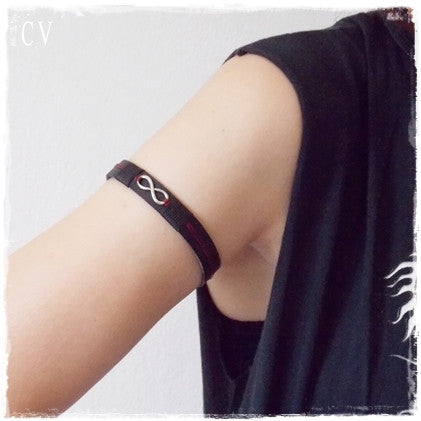 Infinity Leather Armlet