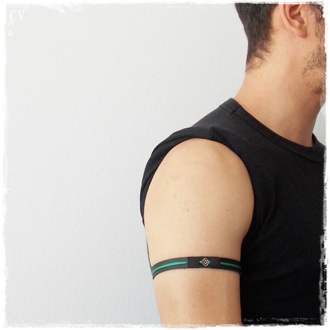 Celtic Leather Armband