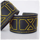 Wide Leather Armband