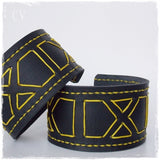 Geometric Leather Armlet