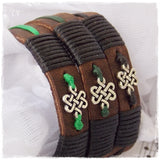 Shrivasta Leather Bracelet