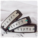 Runic Leather Bracelet *