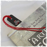 Triskelion Leather Bookmark ~ !