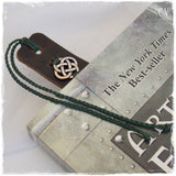 Third Anniversary Leather Bookmark