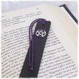 Pentacle Leather Bookmark