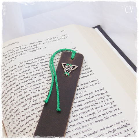 Large Triquetra Bookmark ~