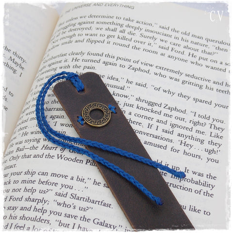 Greek Meander Bookmark ~ * !