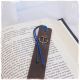 Nautical Leather Bookmark
