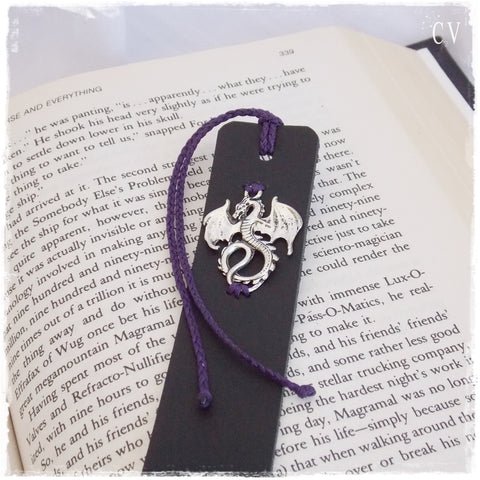 Dragon Leather Bookmark