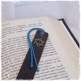 Judaica Leather Bookmark