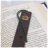 Celtic Tree Of Life Leather Bookmark