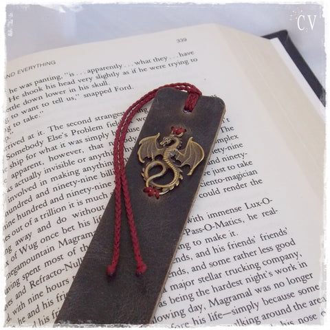 Handmade Dragon Bookmark