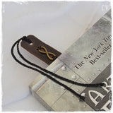 3rd Anniversary Leather Bookmark