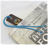 Serenity Leather Bookmark