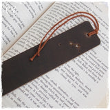 Engraved Aries Zodiac Sign Bookmark