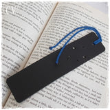 Libra Constellation Personalized Leather Bookmark