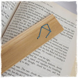 Embroidered Libra Constellation Bookmark