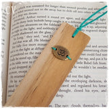 Om Wooden Bookmark *
