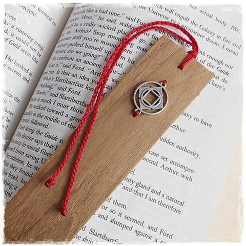 Root Chakra Wooden Bookmark