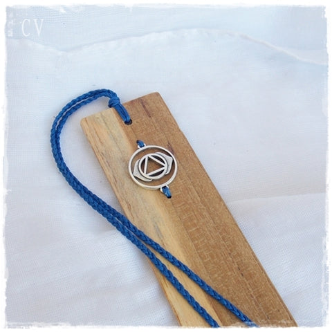 Third Eye Chakra Wooden Bookmark