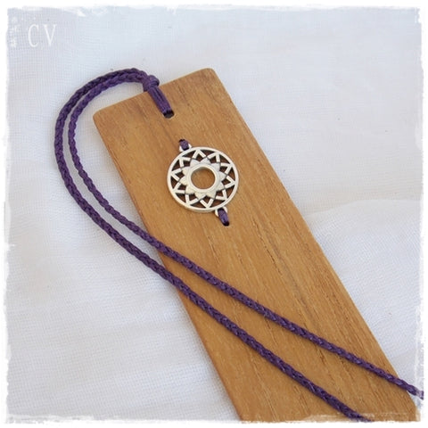 Crown Chakra Wooden Bookmark