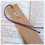 7th Chakra Wooden Bookmark