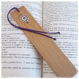 Chakra Wooden Bookmark - Bookworm Gift