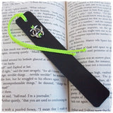 Post-Apocalyptic Leather Bookmark