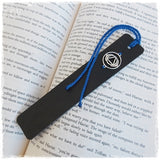 Personalized Chakra Leather Bookmark